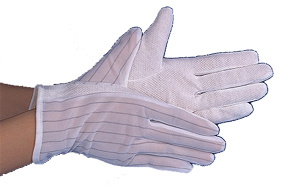ESD Dotted Gloves (10 pairs pack)